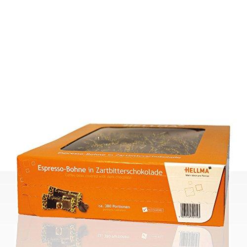 Hellma Espressobohne schokoliert 400Stk