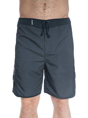 Herren Boardshorts Hurley Phantom Motion Stripe Boardshorts Black