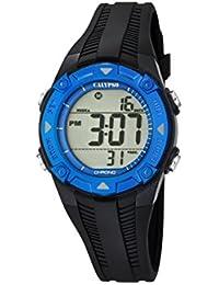 Calypso - K5685/1 - Montre Garçons - Quartz - Digitale - Alarme - Chronomètre - Bracelet plastique noir