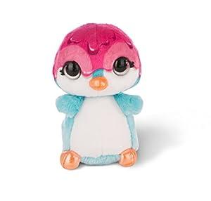 NICI NICIdoo Ojos mágicos pingüino Deezy, Peluche 16cm, varierdad Colores (42485)