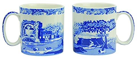 Spode Blue Italian - Made in England (Set of 2