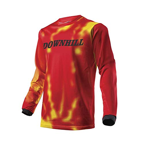 BurningBikewears Uglyfrog Manga Larga Downhill Jersey DH/Am/XC/FR/MTB/BMX/Moto/Enduro/Offroad Ropa Maillot Ciclismo