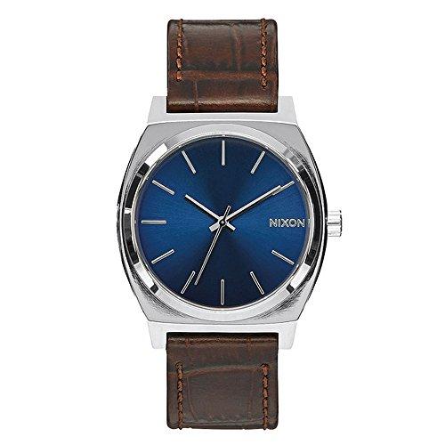 Nixon orologio analogico unisex con cinturino in pelle a0451887-00