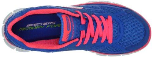 Skechers Flex AppealUnexpected, Sneaker donna blu (Blau (BLHP))