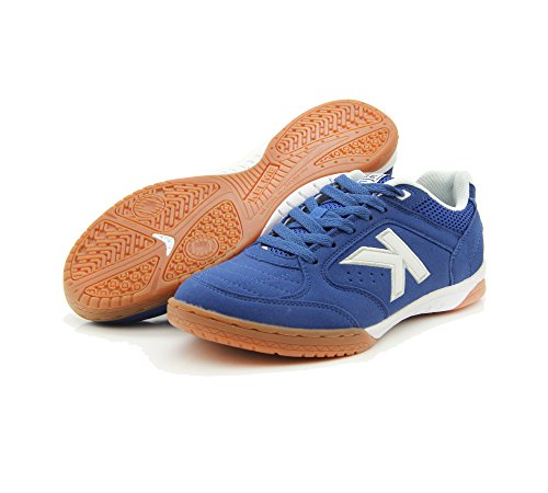 Kelme Precision, chaussures de football mixte adulte - Royal-Blanco