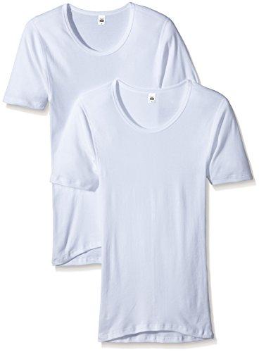 Trigema Herren Unterhemd 6861052, 2er Pack, Gr. X-Large (Herstellergröße: 8), Weiß (weiss 001)