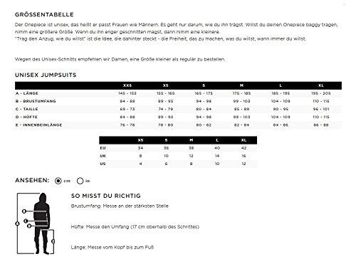 OnePiece Unisex Jumpsuit Boombox Schwarz (Schwarz)