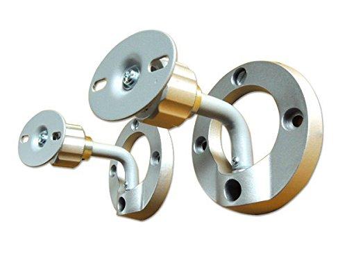 DRALL INSTRUMENTS Lautsprecher Boxen Wandhalterung Deckenhalterung 1 Paar Silver-Line Modell: BH3A