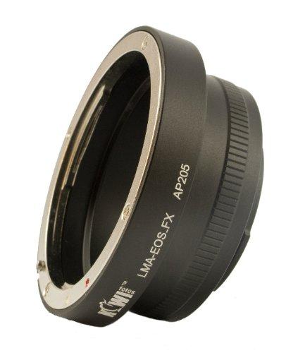 Objektivadapter zur Verwendung von Canon EF / EF-S Objektiven an der Fuji...