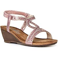 5f62b3247dda Shoe Zone   Amazon.co.uk  Sandals - Womens