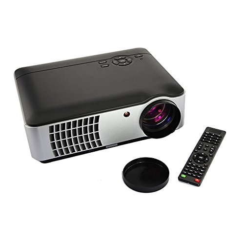 ooze Punnkk P9 Full HD Projector 1080P ( 1920 x 1080 ) LED LCD Home Theater 3D Projector with USB, HDMI, VGA, A/V
