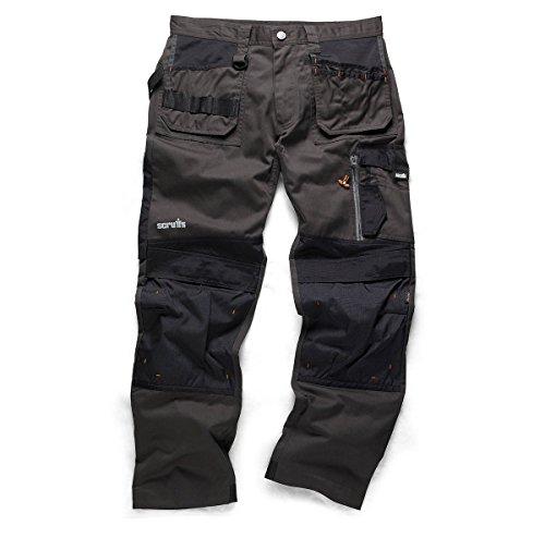 scruffs-3d-trade-hard-wearing-black-graphite-grey-work-trousers-all-sizes-34-waist-long-leg-graphite