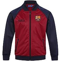 ae5651e583 FCB FC Barcelona - Chaqueta de Entrenamiento Oficial - para niño - Estilo  Retro