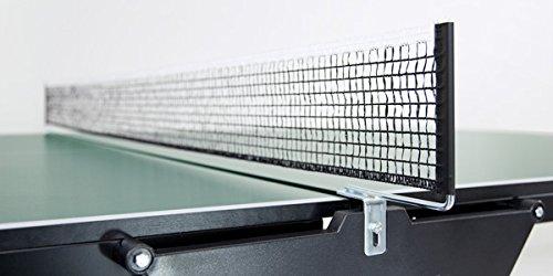 """Tischtennisnetz \""""Club-EN-stationär\"""" (schwarz)"""