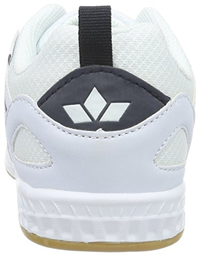 Lico Fit Indoor, Chaussures de Fitness Mixte Adulte Blanc (Weiss/marine)
