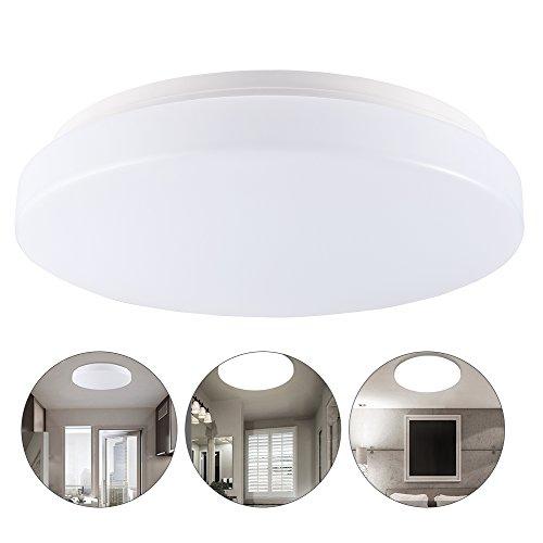 13W LED Moderno Lámpara de techo, Salón Cocina Dormitorio Baño Vestíbulo De La Lámpara, Blanco Frío, IP44 impermeable, 960 Lumen, Ahorro De Energía De Luz