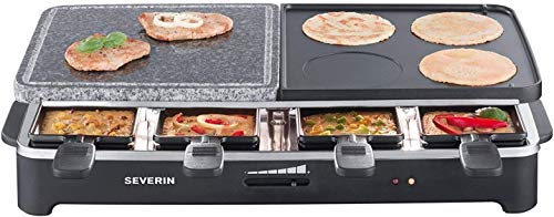 SEVERIN Raclette Partygrill Piedra Natural Plancha