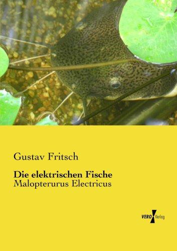 Die elektrischen Fische eBook: Gustav Fritsch: Amazon.de: Kindle-Shop