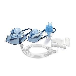 Zubehör für Omnibus BR-CN116B BR-CN151 Vernebler Inhaliergeräte Inhaliergerät Inhalator Erwachsenenmaske Kindermaske Anschlussschlauch Mundstück
