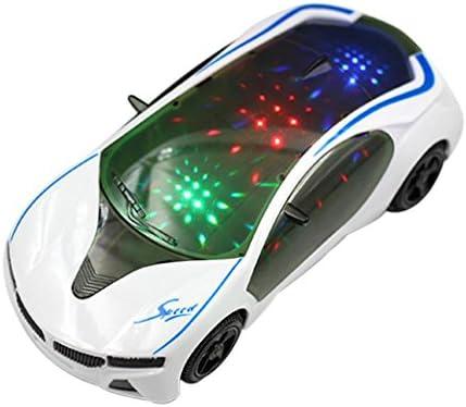 Mamum Figurine voiture de sport électrique électrique électrique multifonction, lumières 3D, musique pour enfants | De Grandes Variétés  c884f9
