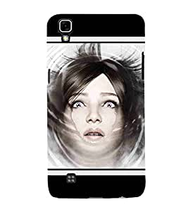 For LG X Power :: LG X Power K220DS K220 beautiful girl, young girl, cute girl, girl Designer Printed High Quality Smooth Matte Protective Mobile Case Back Pouch Cover by APEX