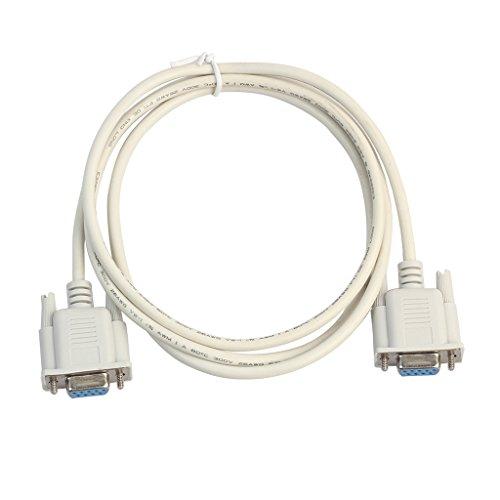 Sunhoyu USB-Kabel, Serielle RS232 Buchse Auf Buchse Null Modem Kabel DB9 FTA Direktverbindung 9 Pin - Usb Null Modem Kabel