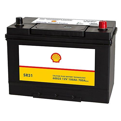 Shell SR31 Asia Autobatterie 12V 100AH 780A/EN 60032 Pluspol Rechts