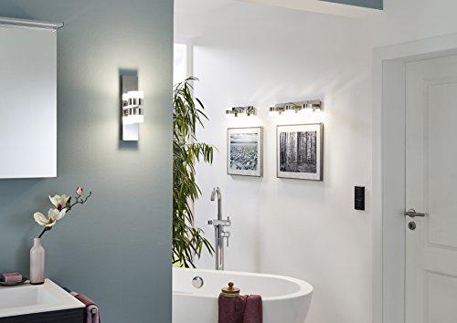 briloner leuchten badezimmerlampe spiegelleuchte led badlampe badleuchte badezimmerleuchte. Black Bedroom Furniture Sets. Home Design Ideas