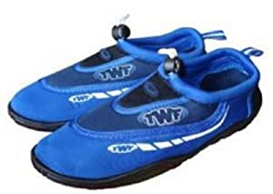 TWF Graphic Aqua Shoes BLUE UK 1