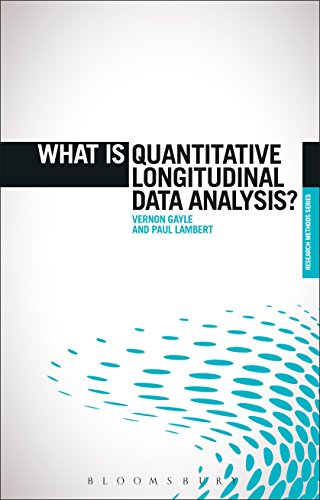 What is Quantitative Longitudinal Data Analysis? (The 'What is?' Research Methods Series) (English Edition)