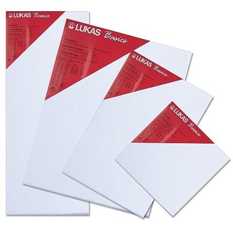 Lukas® Basics - Toile à peindre - Châssis entoilé - XL - 24x30cm - Epaisseur: 38mm