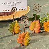 Leaf Design Place Card Holders - 96 coun...
