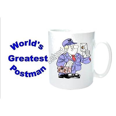 Del Mundo mayor cartero taza