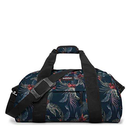 Eastpak Station Borsone, 57 Litri, Nero (Black) Multicolore (Red Brize)