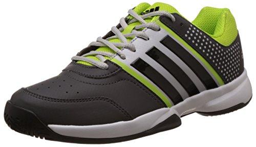 size 40 1056b e5dc4 Adidas b74749 Men S Merrick Tns Dark Grey Grey And Yellow Tennis Shoes 10  Uk- Price in India