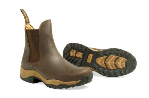Mark Todd Tasman Pull on Boot, M Braun - braun