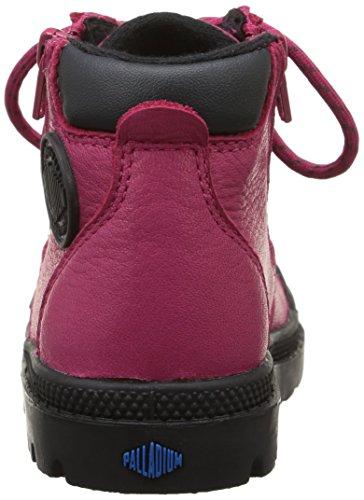 Palladium Hi Cuff Wp Bb, Chaussures Bébé marche bébé fille Rose (A09/Vivacious/Anthracite)