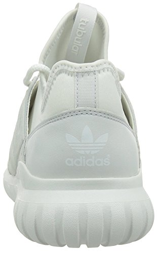 adidas Herren Tubular Radial Fitness-Schuhe, One Size Weiß (Crystal White/Crystal White/Crystal White)