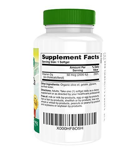 Zoom IMG-1 vitamina d3 2000 iu 50
