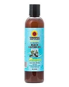 Tropic Isle Jamaican Black Castor Oil Shampoo, 236ml/8oz