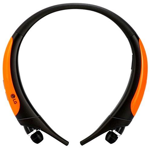 LG Tone Active HBS-850 Bluetooth Sport-InEar-Kopfhörer (mit Mikrofon und Steuerung) Orange