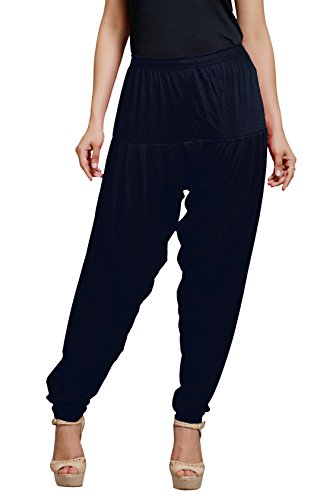 Goodtry Women's patiyala Free Size-Navy
