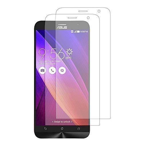 VCOMP Silikon Tasche Rumpf Gel für Asus Zenfone 2 ZE550ML/ZE551ML/Zenfone 2 ZE551ML - 2 Folien transparent
