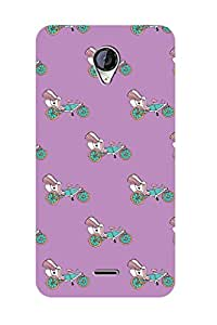 ZAPCASE BACK COVER FOR MICROMAX A106 Multicolor
