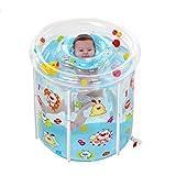 HQCC Badewannen-aufblasbares Kinderbadezimmer der Haushaltsbadewanne Transparentes Farbbadefass des Badebassins