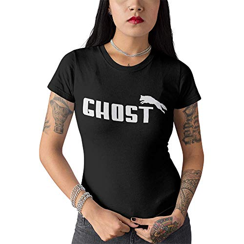 Lady-Shirt Ghost Game of Thrones Girlie Shirt (S)