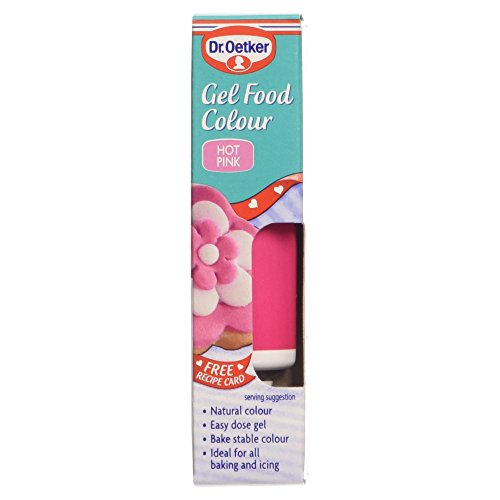 Gel Food Colouring - Hot Pink