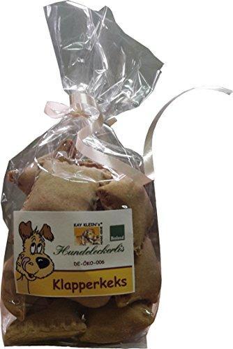 Kay Klein Klapperkeks (14 Stück, 100g) Bio Hundesnack, 2er Pack (2 x 100 g)