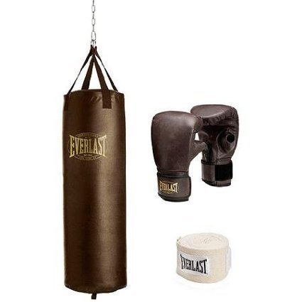 everlast-100-lb-vintage-heavy-bag-kit-includes-heavy-bag-gloves-and-108-hand-wraps-by-everlast