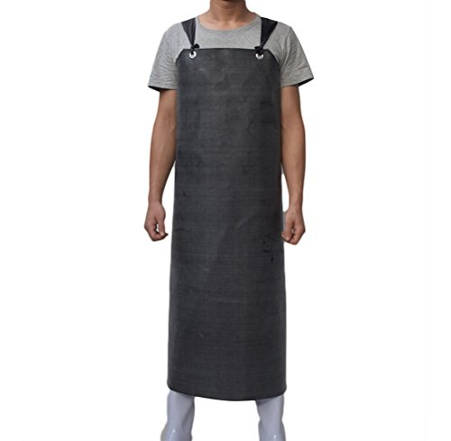 nanxsontm-mens-heavy-duty-waterproof-rubber-anti-oil-industrial-protective-working-apron-cf3017